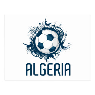 Grunge Algeria Postcard