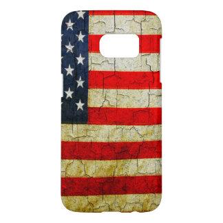 Grunge America flag