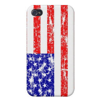 Grunge American Flag iPhone4 Case iPhone 4 Covers