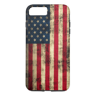 Grunge American Flag iPhone 8 Plus/7 Plus Case