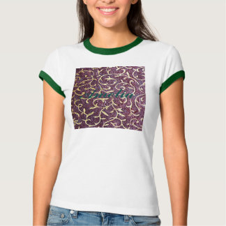 Grunge amethyst,burgundy,vintage, paper, royal shirt