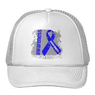 Grunge Anal Cancer Awareness Hats
