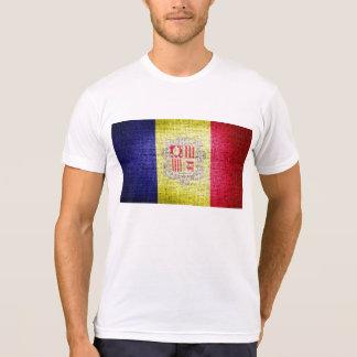 Grunge Andorra Flag T Shirts