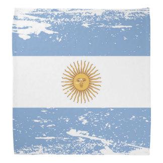 Grunge Argentina Flag Bandana