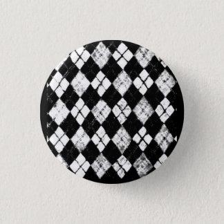 grunge argyle button