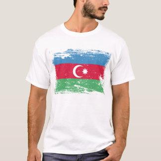 Grunge Azerbaijan Flag T-Shirt