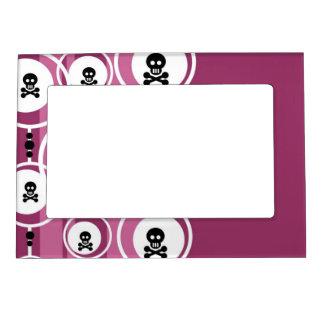 Grunge Background Magnetic Frame