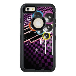 Grunge background OtterBox defender iPhone case
