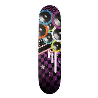Grunge background skateboards