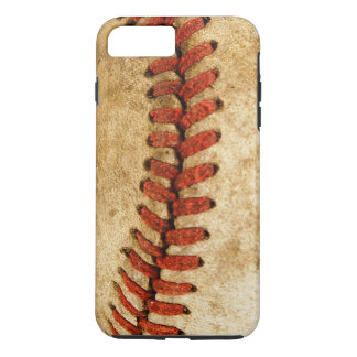 Grunge Baseball Stitches Cool Pattern iPhone 8 Plus/7 Plus Case