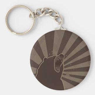 Grunge Bear Key Ring
