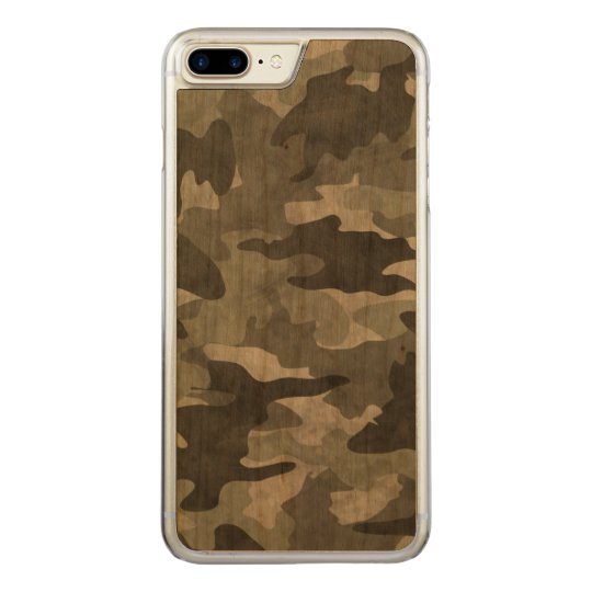Grunge Black and Grey Camo Camouflage Pattern Wood
