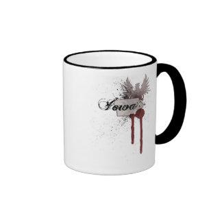 Grunge Blood Splatter Iowa Mug