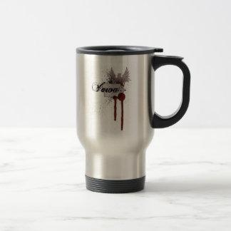 Grunge Blood Splatter Iowa Travel Mug