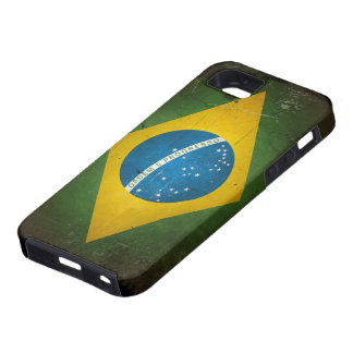 Grunge Brazil Flag iPhone 5 Covers