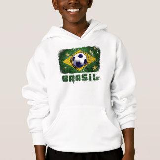 Grunge brazil soccer flag gifts