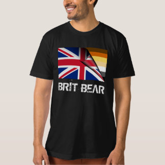 Grunge Brit Bear Pride Union Jack T-Shirt