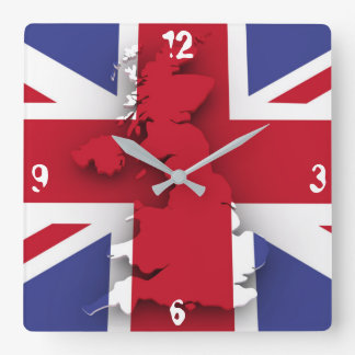 Grunge Britain Wall Clock