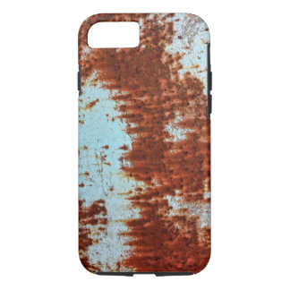 Grunge Brown Rusted Metal Pattern 2 iPhone 7 Case