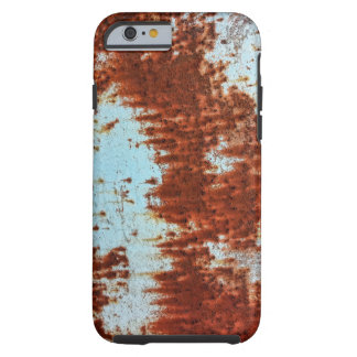 Grunge Brown Rusted Metal Pattern 2 Tough iPhone 6 Case