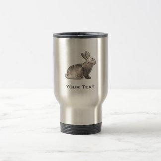 Grunge Bunny Travel Mug