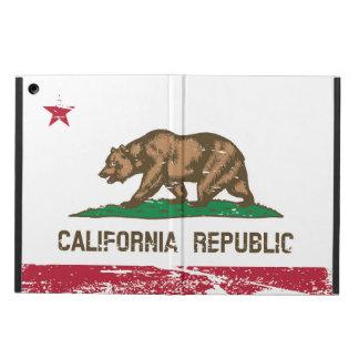 Grunge California State Flag Case For iPad Air