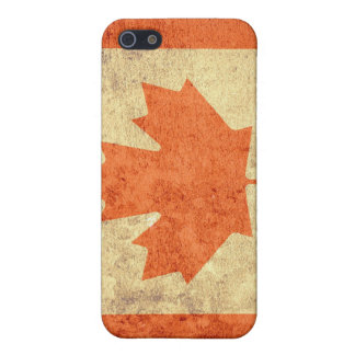 Grunge Canada Flag iPhone 5/5S Cover