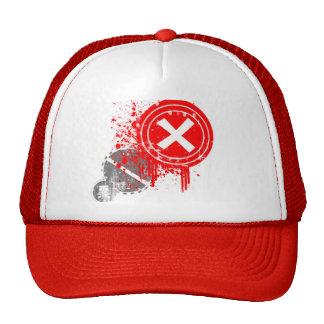 grunge mesh hat