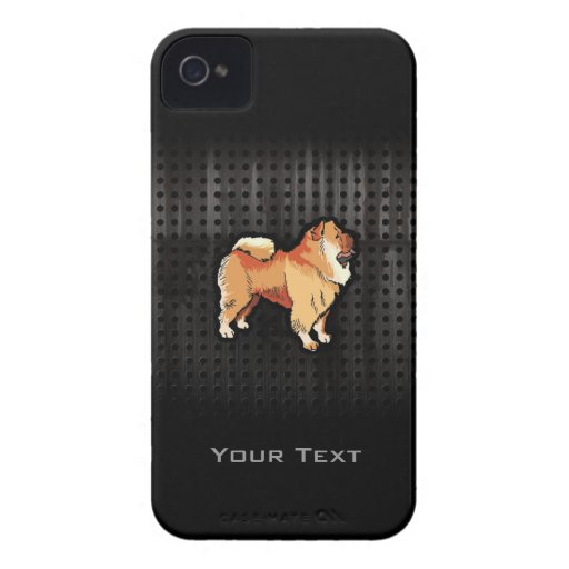 Grunge Chow Chow iPhone 4 Cover