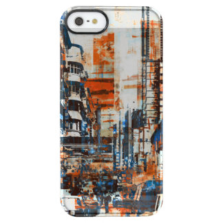 Grunge Cityscape iphone Smasung Case Skin Cover