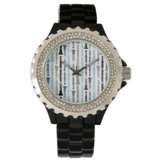 Grunge Clarinets - Blue and Gray Watch