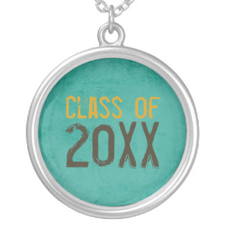 "Grunge ""Class of"" Graduation Necklace"