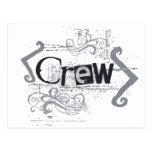 Grunge Crew Post Card