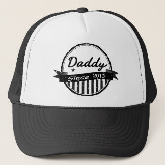 Grunge Daddy Since 2013 Banner Circle Trucker Hat