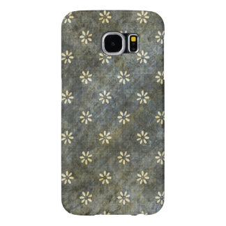 Grunge Daisy Pattern Samsung Galaxy S6 Cases