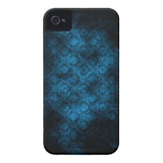 Grunge Damask (Turquoise) iPhone 4 iPhone 4 Cover