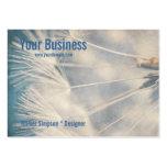 Grunge Dandelion Large Business Cards (Pack Of 100)