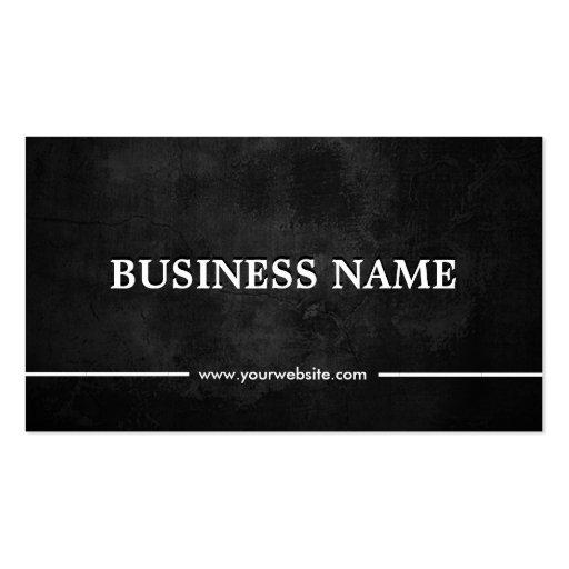 Grunge Dark Apps developer Business Card Templates