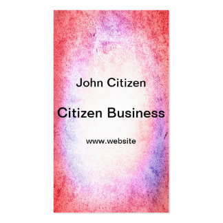 Grunge design in pink, white and purple. pack of standard business cards