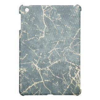 Grunge Distress Denim Pattern Speck iPad Case