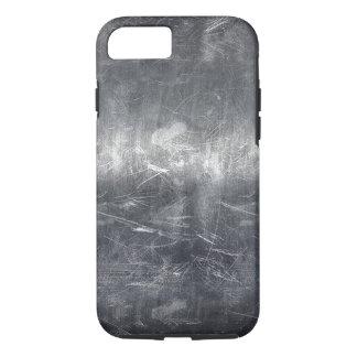 Grunge Distressed Metallic Industrial Print iPhone 8/7 Case