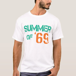 15fabaceda03 Grunge distressed Summer of  69 Basic Dark Tee