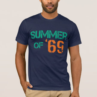 Grunge distressed Summer of '69 Tee