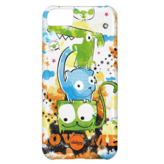 Grunge Dogs and Cats Aleloop iPhone Case iPhone 5C Cases