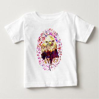 Grunge Eagle Sketch Baby T-Shirt
