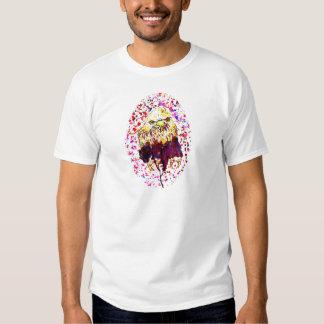 Grunge Eagle Sketch T Shirt