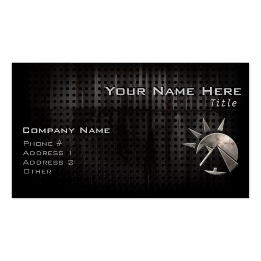 Grunge Egyptian Pyramid Business Card Templates
