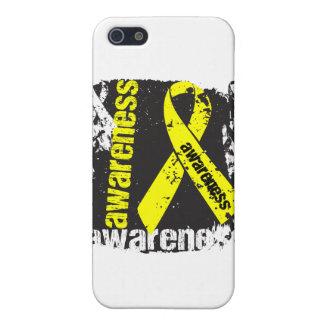 Grunge Ewing Sarcoma Awareness iPhone 5 Cases