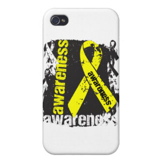 Grunge Ewing Sarcoma Awareness Cases For iPhone 4