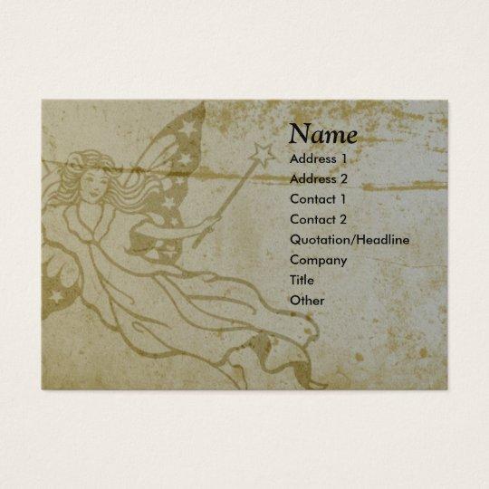 Grunge Fairy Business Card - Chubby
